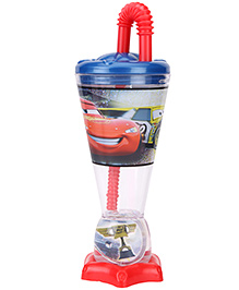 Disney Pixar Cars Trophy Shape Sipper Tumbler Blue - 200 ml