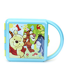 Winnie The Pooh Lunch Box With Handle - Red