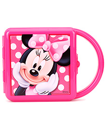 Minnie Mouse Lunch Box With Handle - Pink