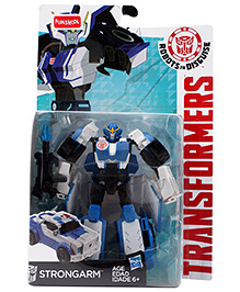 Transformers RID One-Step Changers Strongarm Figure - Blue White And Black