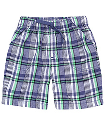Jumping Beans Blue Checkered Shorts