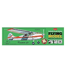 Guillow's Cessna 170 Authentic Balsa Wood Flying Collectors Model