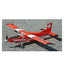 Guillow's PC-6 Porter 140 Authentic Balsa Wood Flying Collectors Model