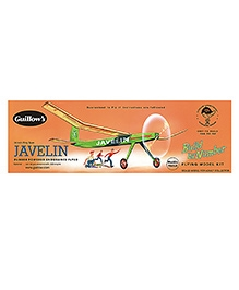 Guillow's Javelin Semi Scale Rubber Powered Balsa Wood Model Plane Kit