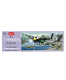 Guillow's MK 1B Typhoon WW II British Fighter Scale Flying Model Plane Kit