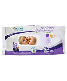 Himalaya Herbal Soothing Baby Wipes - 72 Pieces