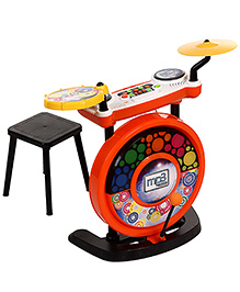 Simba MP3 I Drum Set - Orange And Yellow