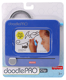 Fisher Price Doodle Pro Clip On Drawing Board - Blue