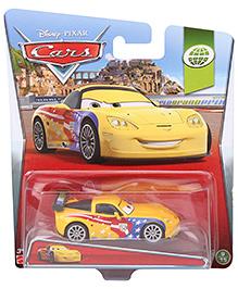 Disney Pixar Cars Jeff Grovette - Yellow