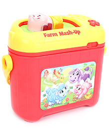 Leap Frog Farm Mash Up - Yellow And Red