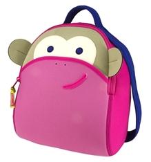 Blushing Monkey Backpack