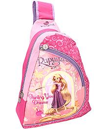 Disney Rapunzel School Bag Pink - Height 17 Inches