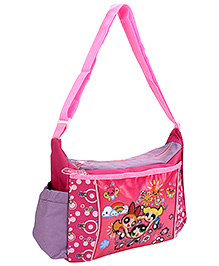 Power Puff Girls Messenger Bag Pink - Height 10 Inches