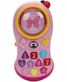 Mitashi Skykidz Musical Chatter Phone - Pink