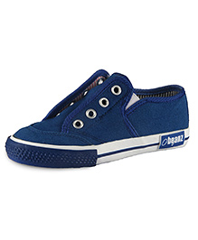 Beanz Slip-On Style Sneakers - Navy Blue