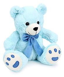 Playtoons Teddy Bear Blue - Height 10 Inches
