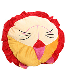 Playtoons Lion Face Cushion - Multi Color
