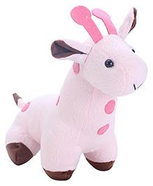 Playtoons Baby Giraffe Pink - Height 7 Inches