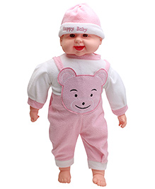 Kumar Toys Laughing Music Baby Doll Pink - Height 19 Inch