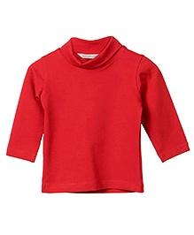 Beebay Full Sleeves Plain Skivvy - Red
