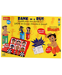 Chhota Bheem DIY Bank In A Bus - Multicolour