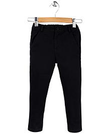 Beebay Full Length Twill Trouser - Black