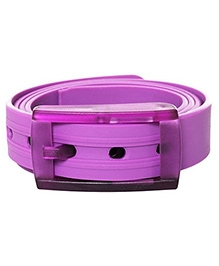 NeedyBee Resizable Silicone Scented Belt - Purple