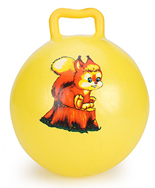 Tickles Jumping Hopper Ball - Yellow