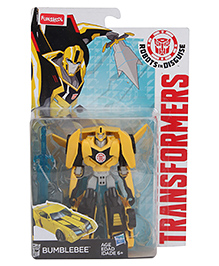Transformers Robots In Disguise Bumblebee Figure Yellow - 13 cm