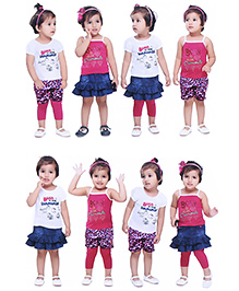 N - XT Multi Piece Clothing Set Pack Of 5 - Multicolour