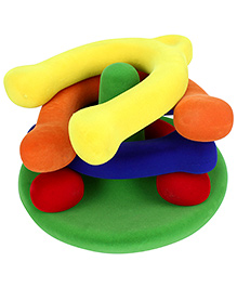 Rubbabu Rubber Foam Horseshoe Set - Multicolour