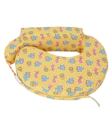 Comfeed Pillows By Nina Nursing And Feeding Pillow Multiprint - Yellow