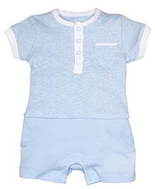 FS Mini Klub Short Sleeves Romper - Blue