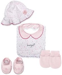 FS Mini Klub Cotton Accessory Set - Pink