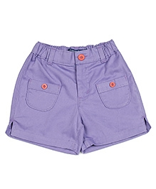 Campana Patch Pocket Shorts - Lilac