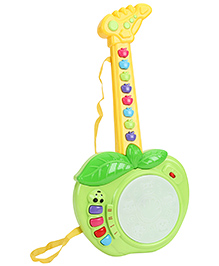Smiles Creation Apple Guitar - Green And Yellow