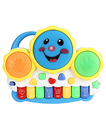 Smiles Creation Electronic Drum With Organ Keyboard - 616076