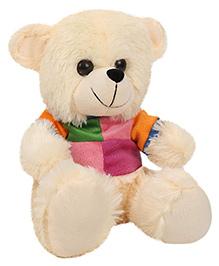 Funzoo Jacky Bear Cream - Height 10 Inches