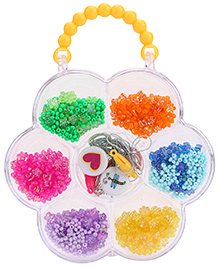 Simba Art And Fun Plastic Beads Set - Multi Colour