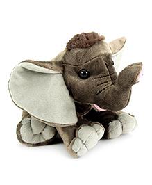 Wild Republic Baby Elephant Soft Toy Grey - Height 12 Inch