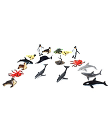 Wild Republic Aquatic Animals Set - Multicolour