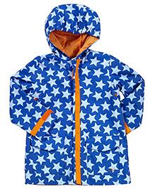 i play Blue Star Raincoat