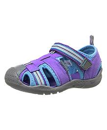 Pediped Sandal Sahara - Lavender And Turquoise
