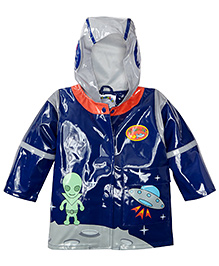 Kidorable Blue Spacehero Raincoat