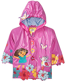Kidorable Pink Dora Raincoat