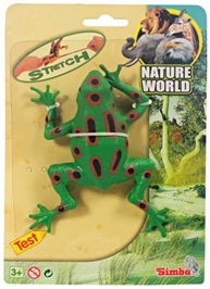 Simba - Stretchable Animal Frog - Nature World