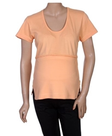 Maternity Top - Orange