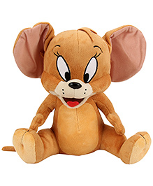 Warner Brother Jerry Soft Toy Brown - Height 12 Inch