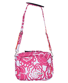 JuJuBe Fuchsia Blossoms Tablet Carrier