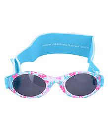 MFS Kids Blue Butterfly Sunglasses